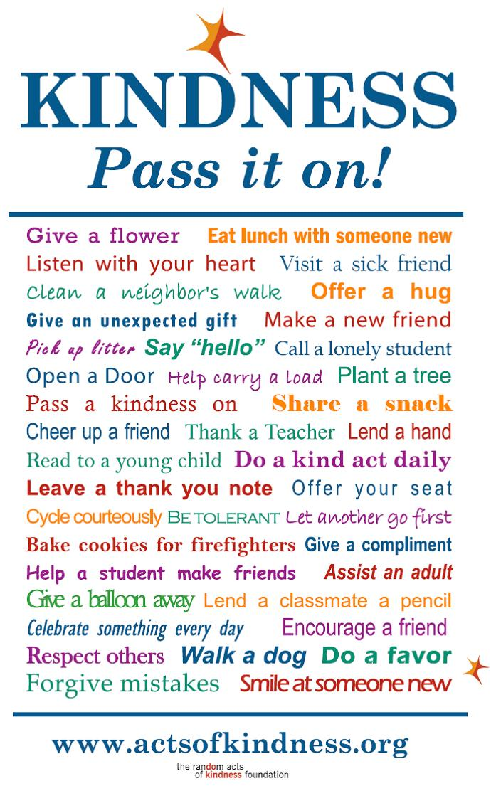 Image result for random acts of kindness ideas